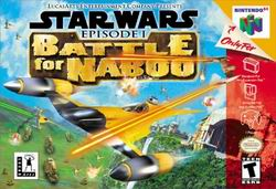 Star Wars Episode I - Battle for Naboo (USA) Box Scan